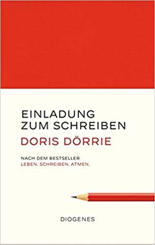 """Cover """"Einladung zum Schreiben"""""""