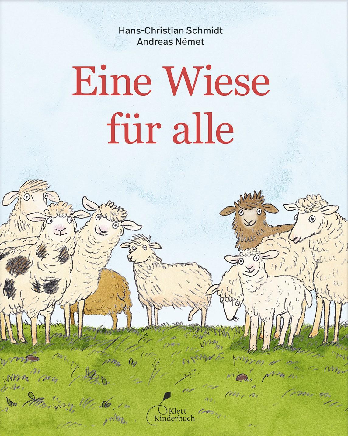 """Cover """"Eine Wiese für alle"""""""