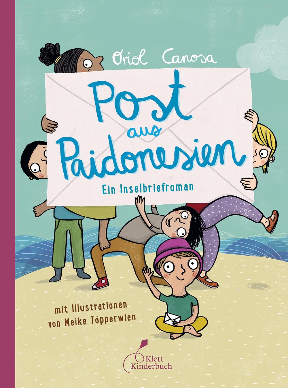 "Cover ""Post aus Paidonesien"""