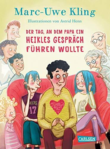 """Cover """"Der Tag, an dem Papa ein heikles Gespräch führen wollte"""""""